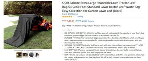 QOR Balance Extra Large Reuseable Lawn Tractor Leaf Bag for Sale in Tempe, AZ
