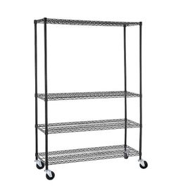 Heavy Duty 4 Tier Shelving Rack Steel Wire Metal Shelf Adjustable Storage Shelves for Sale in Phoenix,  AZ