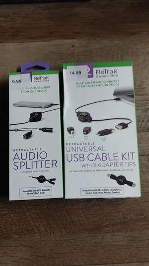 Audio Splitter/USB Adapter for Sale in North Platte, NE