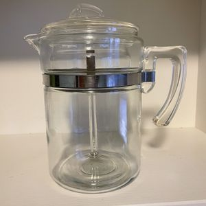 Vintage Pyrex Glass 6 Cup Percolator 7826 B for Sale in Pittsburgh, PA