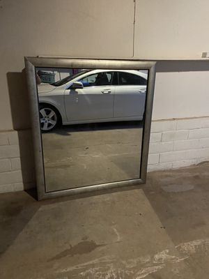 Large mirror with bronze frame for Sale in Oroville, CA