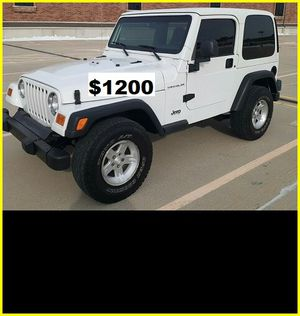 $12OO Jeep Wrangler for Sale in Baltimore, MD