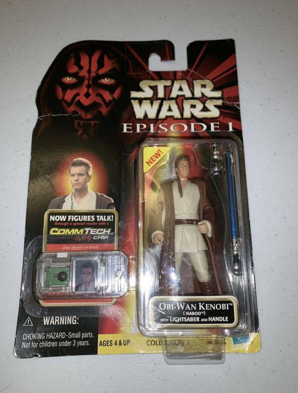Star Wars Obi Wan Kenobi Comm Tech Action Figure