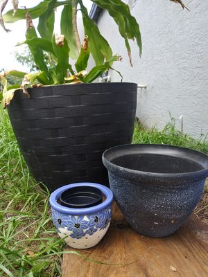 Big plant pot for Sale in Auburndale, FL