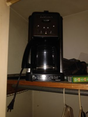 Cuisneart coffee maker for Sale in Mitchell, IL