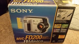 Sony mvc-fd200 Fd mavica camera for Sale in Annandale, VA