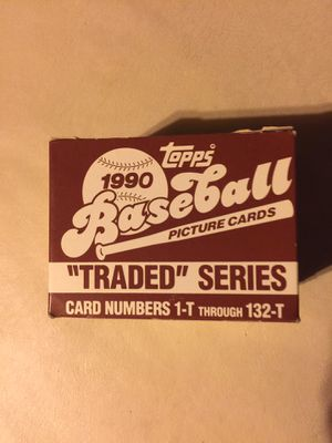 1990- Topps Traded Set. for Sale in Marysville, WA