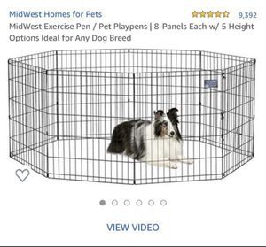 Midwest pet play pen for Sale in South Jordan, UT