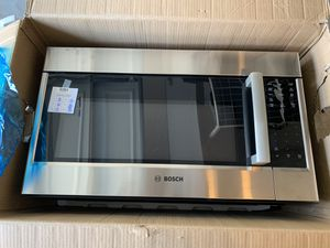 Bosch 500 Series 30 in. 2.1 cu. ft. Over the Range Microwave in Stainless Steel for Sale in Orange, CA