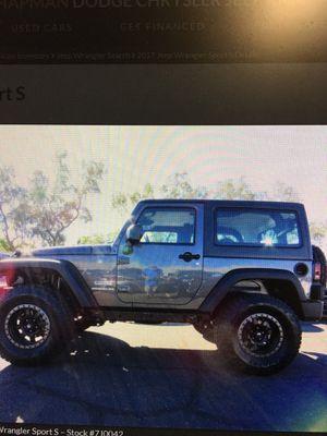 2017 Jeep Wrangler Sport for Sale in Fresno, CA