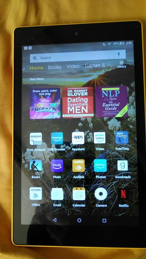 """8"""" Amazon Fire HD Tablet with Alexa for Sale in Sunnyvale, CA"""