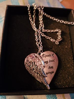 New Silver Plated Angel Necklace for Sale in Memphis, TN