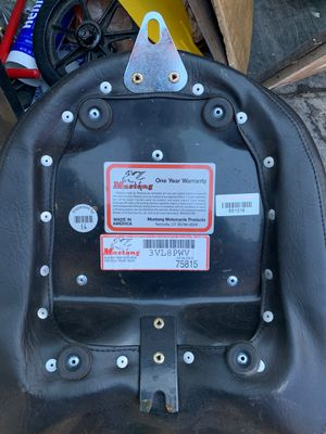 Motorcycle rear seat for Sale in Escondido, CA
