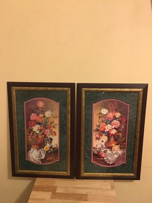 "Authentic ""wall Frame Picture"" Home interior & Gift Decoration - Great Condition for Sale in Lynwood, CA"