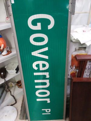 Govenor Place Street Sign for Sale in Sunbury, OH