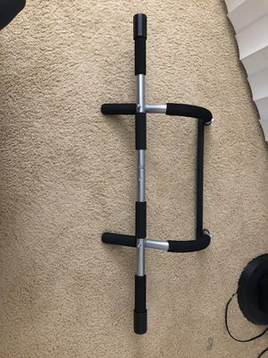 Exercise bar- pull up and push up for Sale in Santa Clara, CA