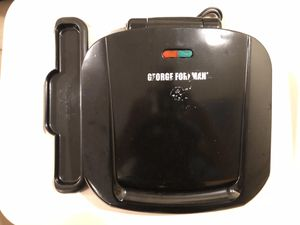 George Foreman Grill w/Removable Grill Plates for Sale in Alexandria, VA