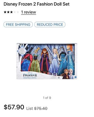 New in box frozen 2 doll set for Sale in Plano, TX