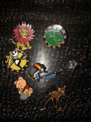 Disney Pins LOT -Qty 7 for Sale in Auburn, WA