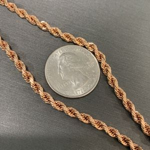 "14kt Solid Rose Gold 26"" 32.8g for Sale in Redondo Beach, CA"
