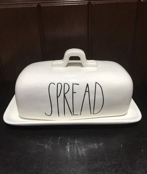Rae Dunn Spread Butter Dish for Sale in Brooklyn, NY
