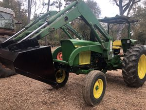 70 hp John deer 2030 diesel tractor with front end loader for Sale in Hockley, TX