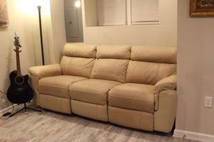 Reclining Sofa $290 for Sale in Washington, DC
