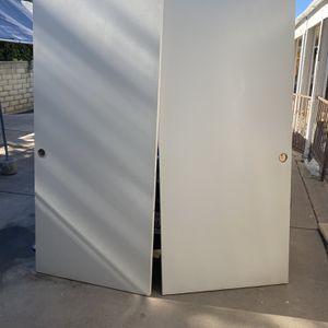 Three Sets Of Closet Doors for Sale in Wildomar, CA