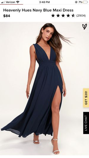 Heavenly Hues Navy Blue Maxi Dress for Sale in Monroe, NC