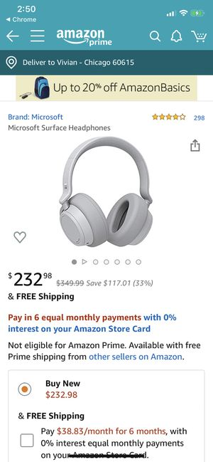 Microsoft surface headphones for Sale in Chicago, IL
