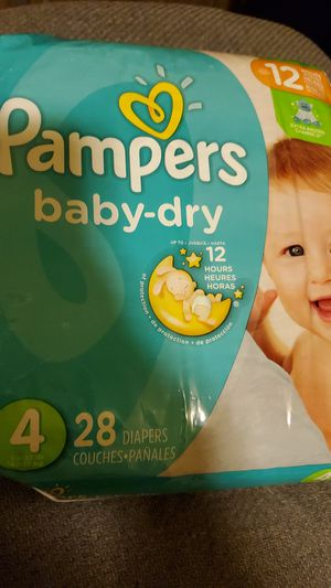 Pampers size 4 for Sale in Fresno, CA