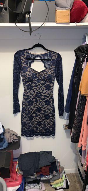 Lace Blue/Cream dress for Sale in New Castle, DE