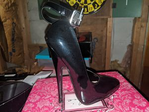 "Ellie 6"" heel fetish pump w/ ankle strap for Sale in Dover, DE"