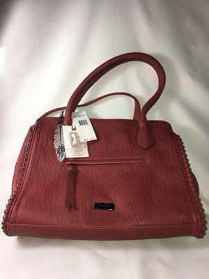 Jessica Simpson Shoulder Bag Boxy Satchel Purse, New, Russet Brown for Sale in Austin, TX