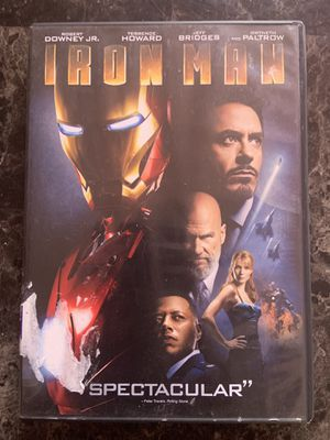 Iron Man DVD for Sale in Fremont, CA