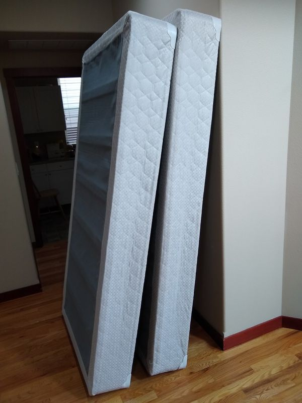 King Size Mattress And 2 Box Springs