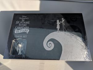 Limited Nightmare Before Christmas Chess game for Sale in Beaverton, OR