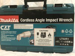 Makita LT02R1 12V Max CXT Lithium-Ion Cordless 3/8 Angle Impact Wrench for Sale in Atlanta, GA