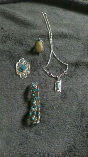 Sterling silver turquoise for Sale in Columbus, OH
