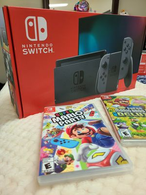 New Nintendo Switch + 2 Games for Sale in Temecula, CA