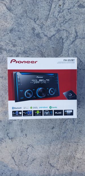 Pioneer Car Stereo CD Bluetooth Smart Sync Brand New for Sale in Clovis, CA