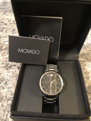 Movado men watch for Sale in Downers Grove, IL