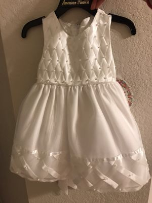White flower girl or church dress - brand new with tag for Sale in Austin, TX
