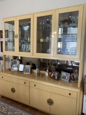 Romweber custom made china cabinet for Sale in Sterling, VA