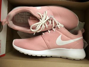Pink roshes. Hot pink huaraches. Blue and white adidas for Sale in Murfreesboro, TN