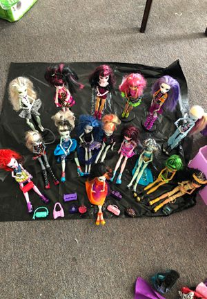 Monster high dolls for Sale in Daly City, CA