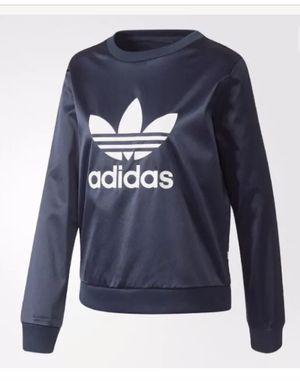New Adidas originals satin trefoil sweatshirt women blue size S for Sale in FL, US
