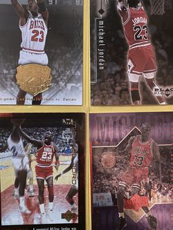 Michael Air Jordan Chicago Bulls basketball Trading Card Lot for Sale in Chicago,  IL