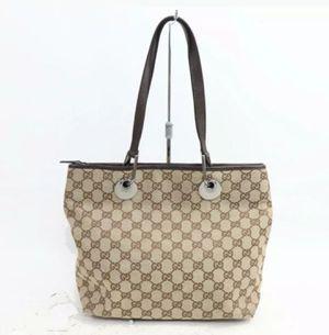 Authentic hand bag Gucci Canvas for Sale in Everett, WA