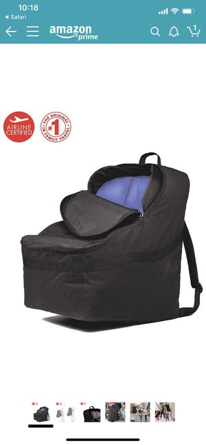 J.L. Childress Ultimate Backpack Padded Car Seat Travel Bag for Sale in Phoenix, AZ